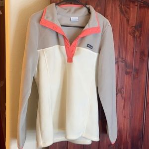 Columbia 3 Lakes Colorblock Fleece Pullover